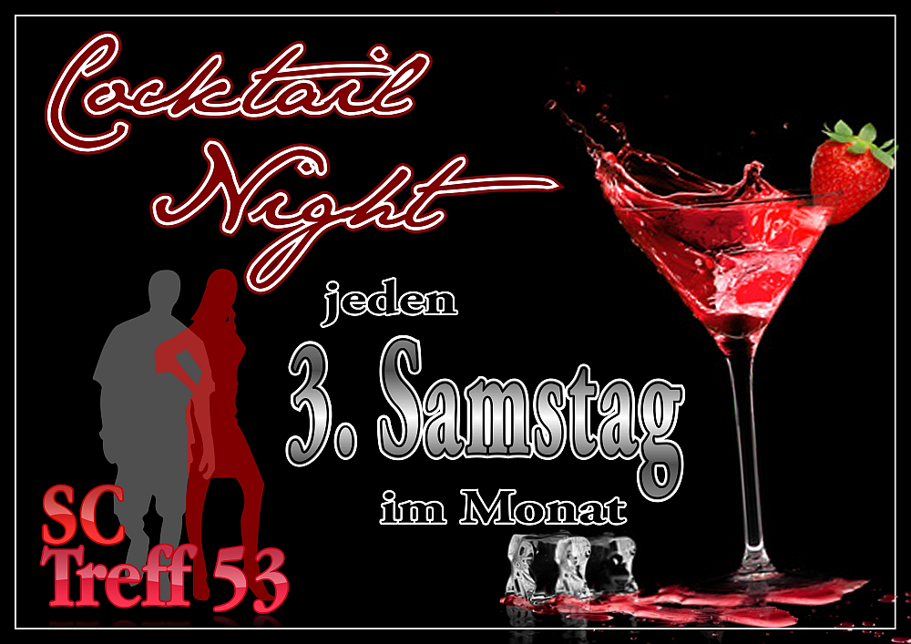 Cocktail Nacht im Swingerclub Treff 53 Friesoythe LK Cloppenburg